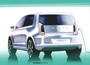 Skoda Citigo-e iV sketch