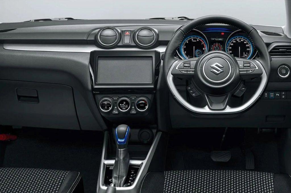 Suzuki Swift SZ Hybrid facelift dashboard