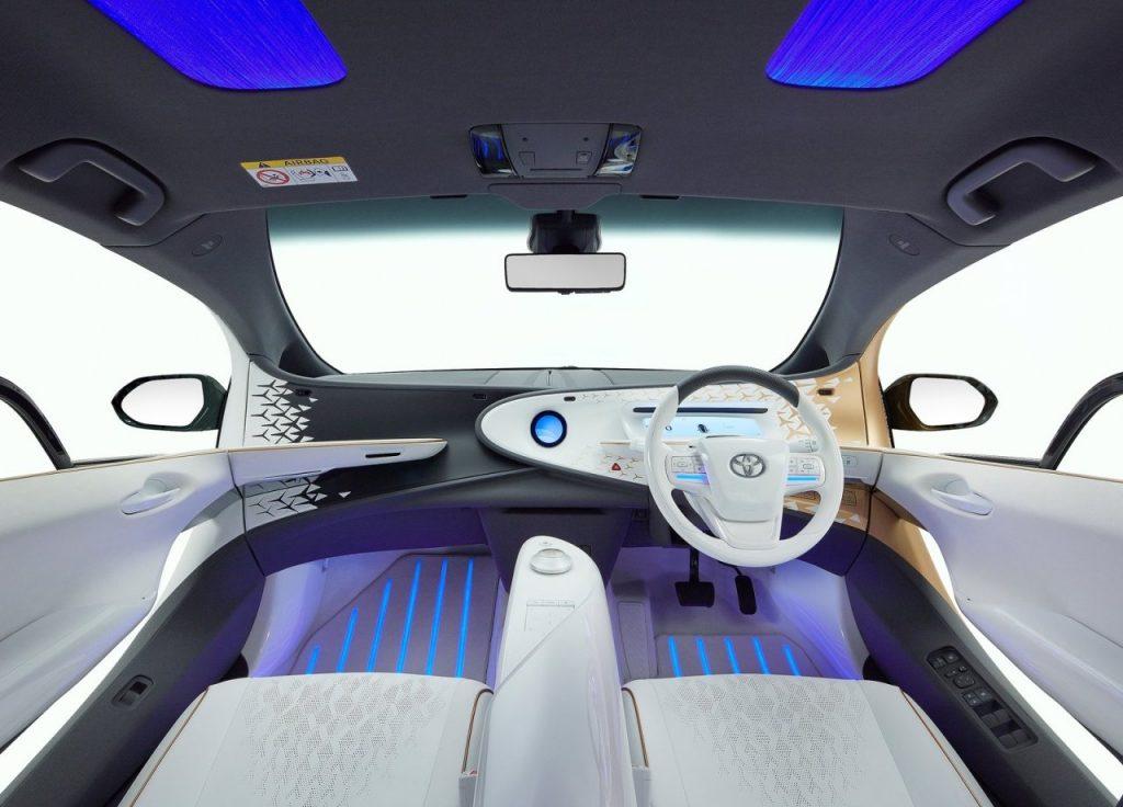 Toyota LQ Concept dashboard