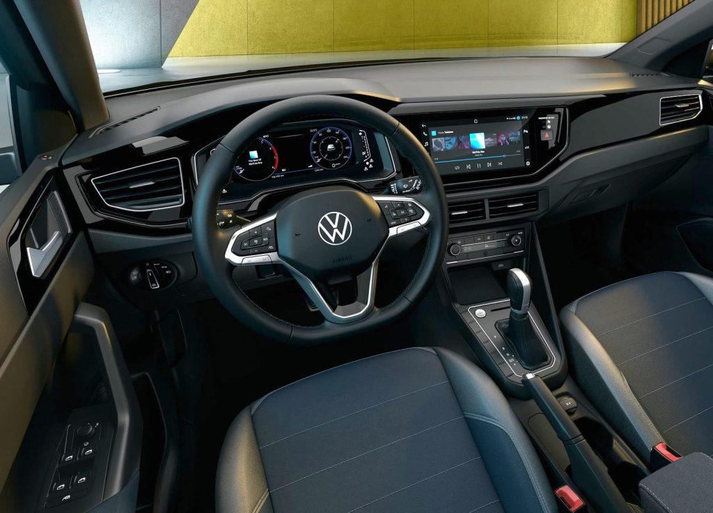 Volkswagen Nivus dashboard