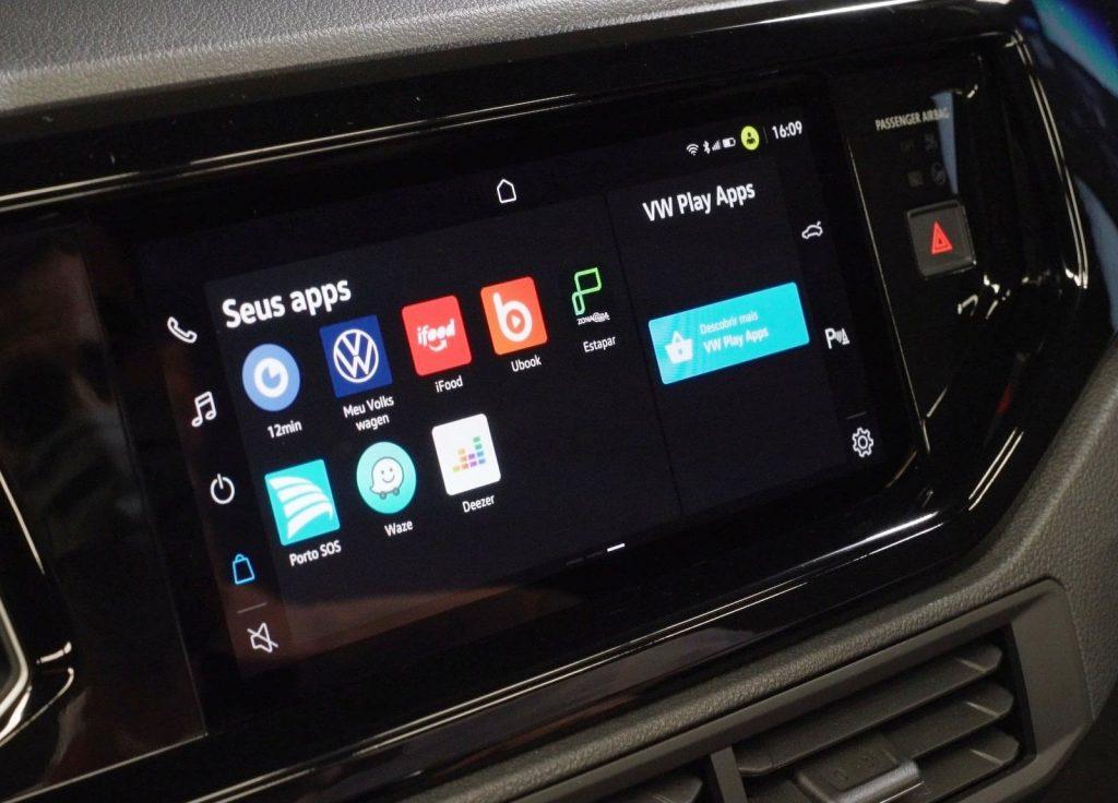 Volkswagen Nivus infotainment system