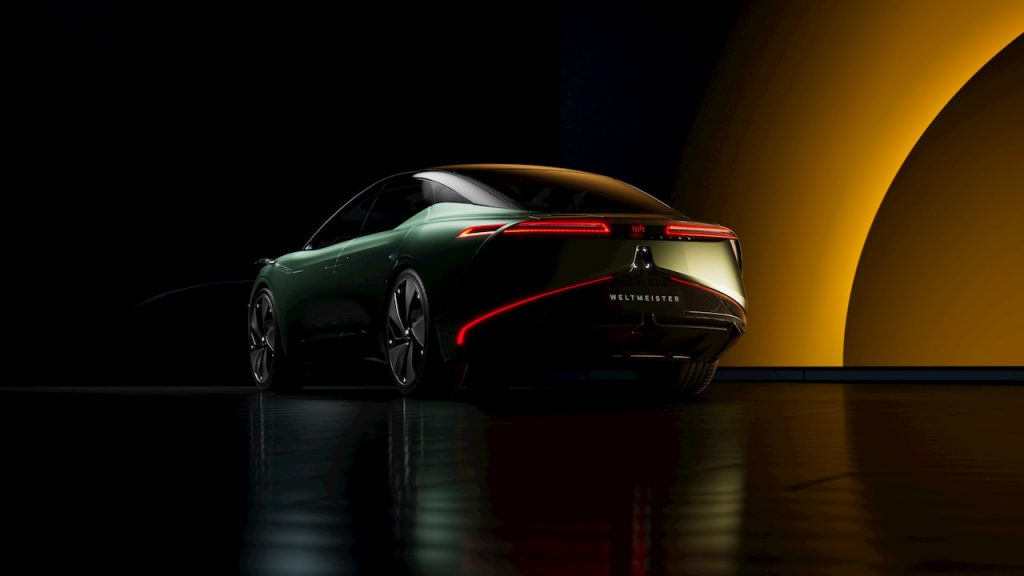 Weltmeister Maven concept rear three quarter view