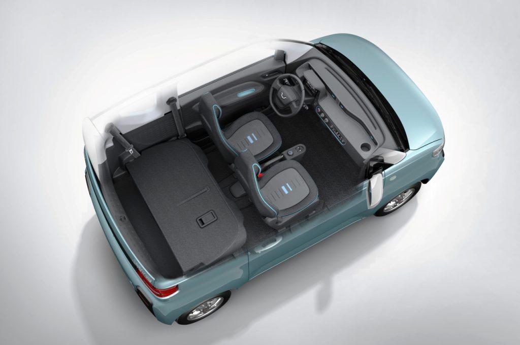 Wuling Mini EV interior view