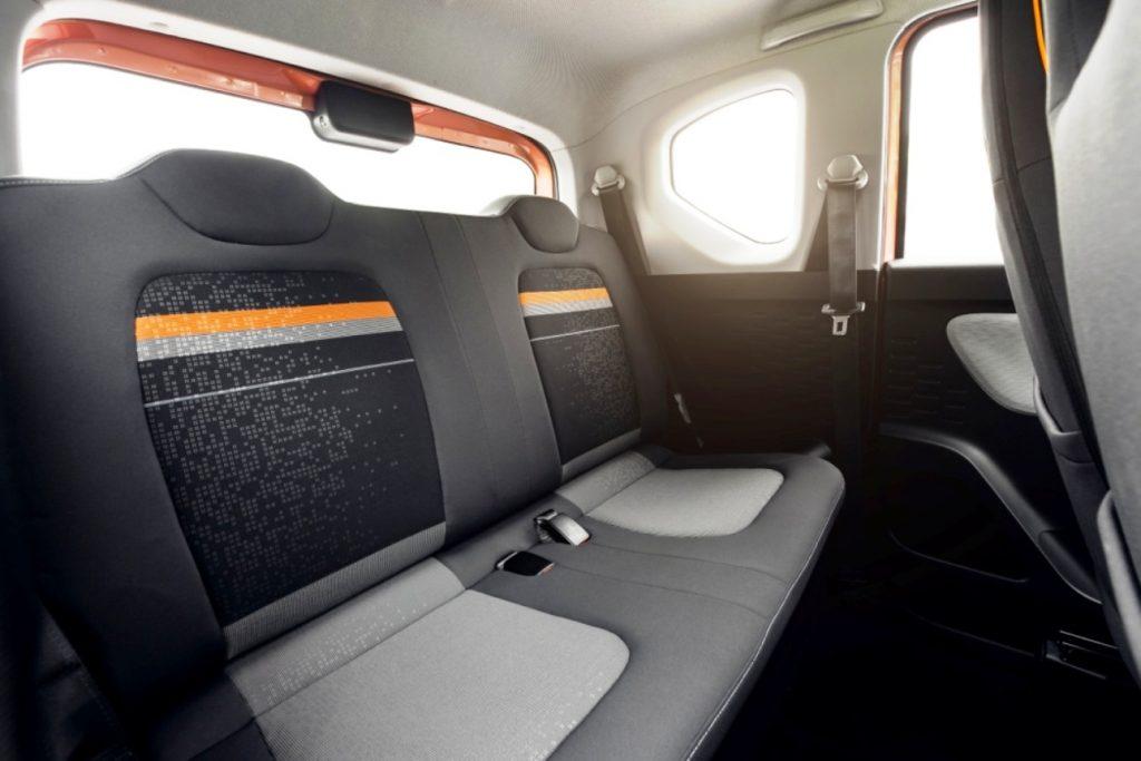 Wuling Mini EV rear seats