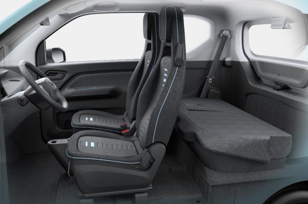 Wuling Mini EV seats
