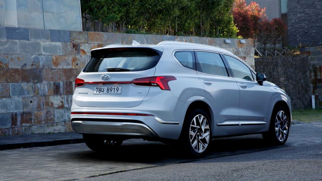 2021 Hyundai Santa Fe Spotted 1st Time In Flesh With No Camo