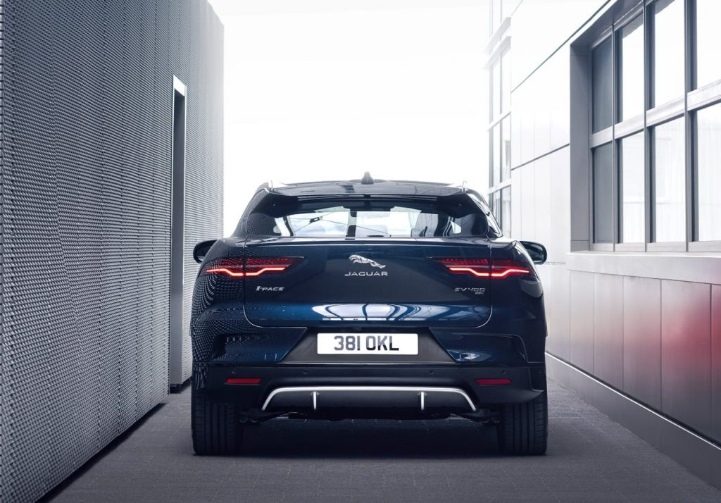 2021 Jaguar I-PACE rear view