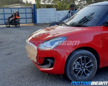 2021 Maruti Swift new model spotted for the first time