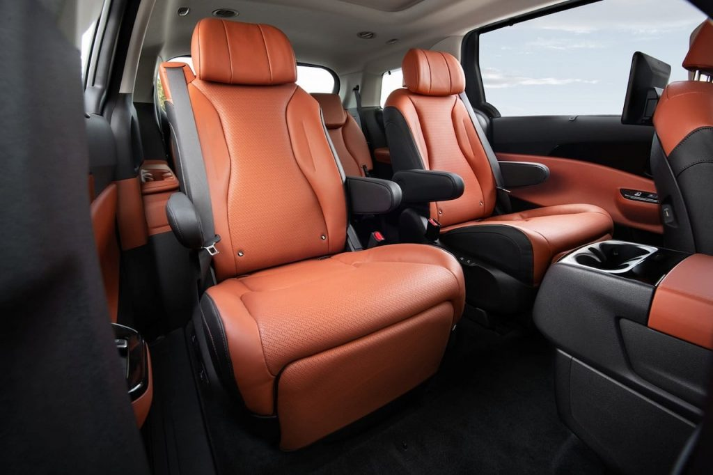 2022 Kia Carnival 7 seater rear seats