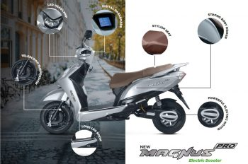 Honda Activa can now be exchanged for an Ampere Electric Scooter