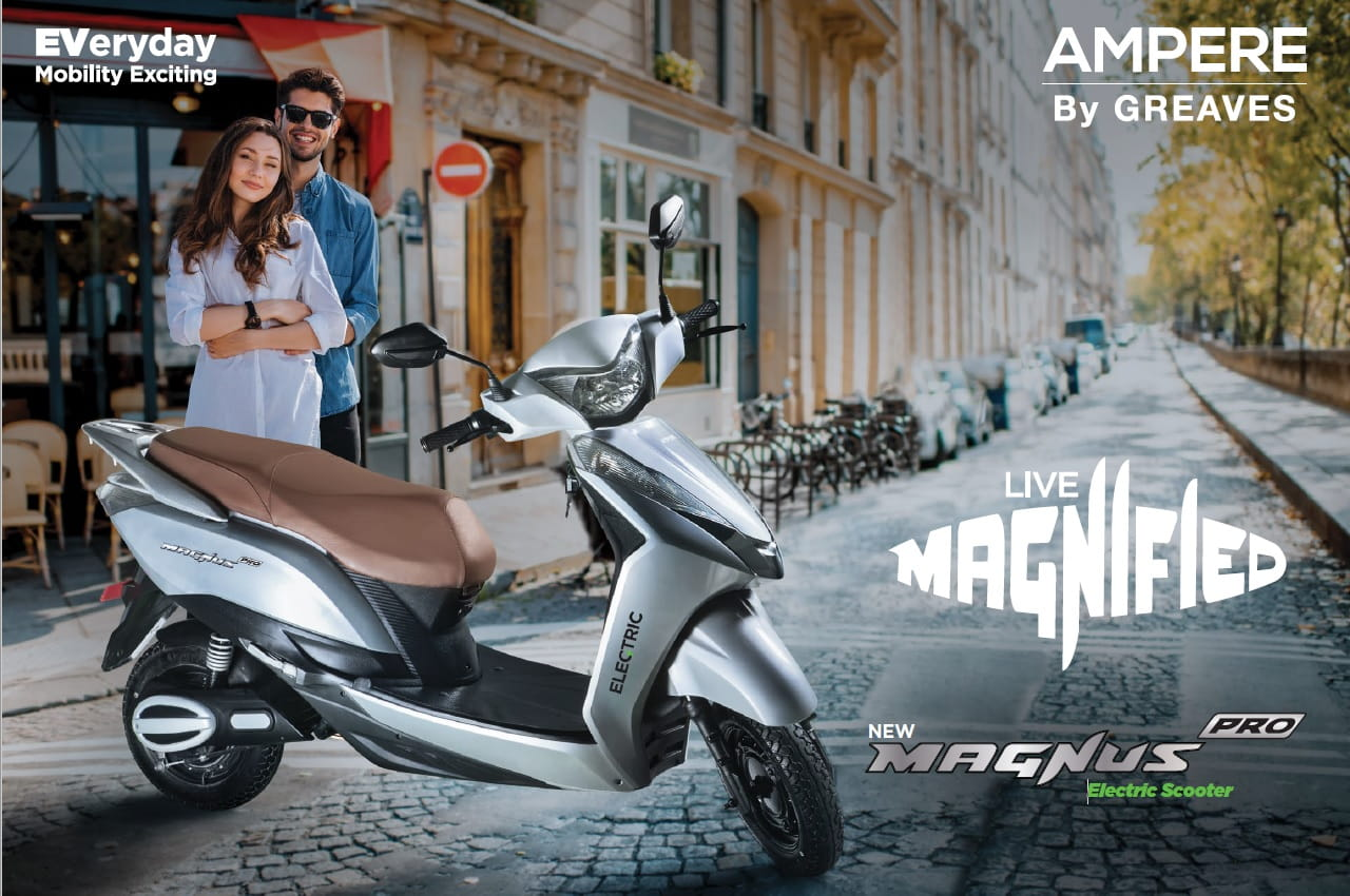 Ampere Magnus Pro front quarter view 01