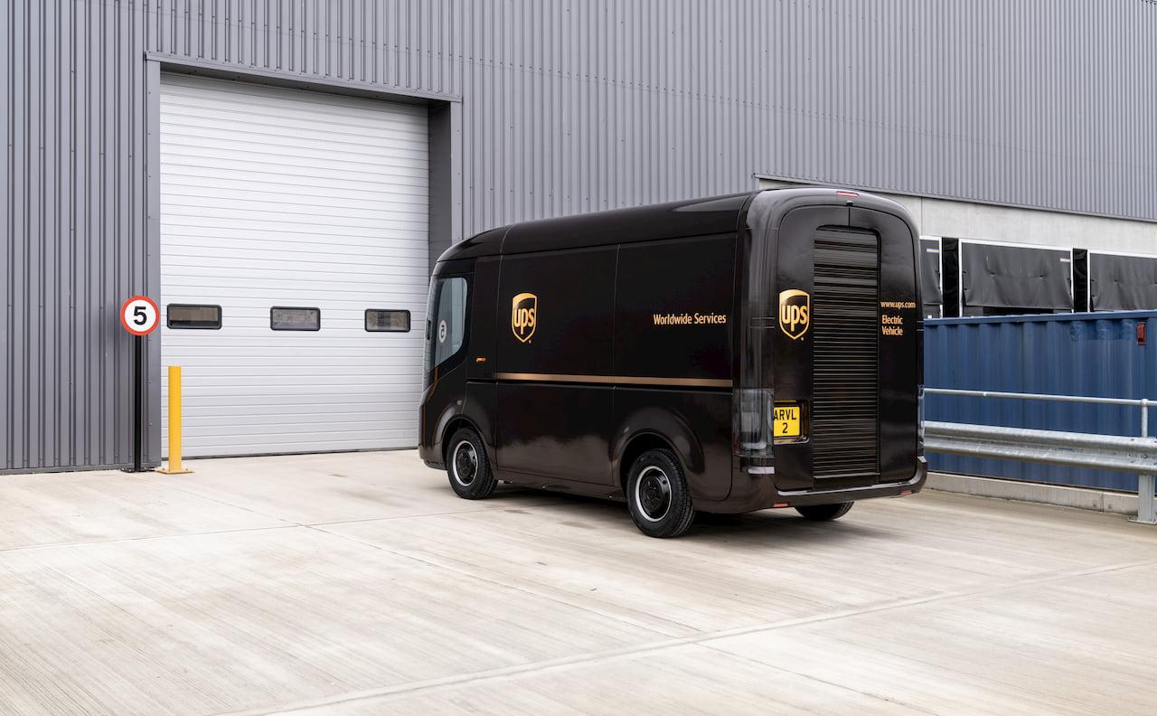 Arrival UPS electric van