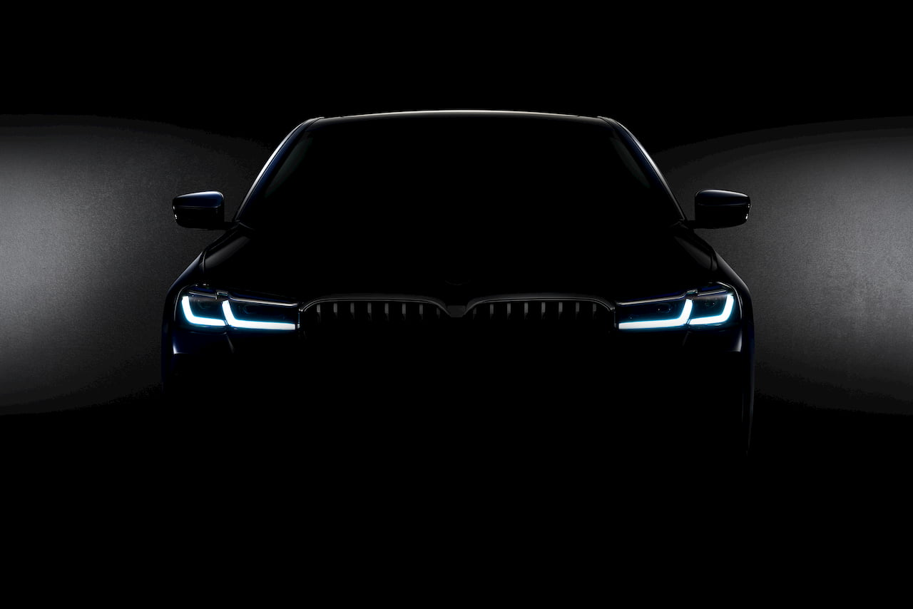 BMW 5 Series teaser