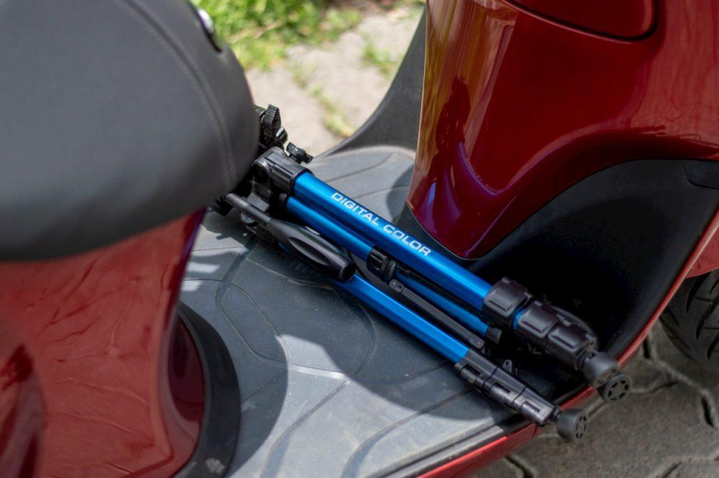 Bajaj Chetak electric scooter floor mat initial ownership review from Pune