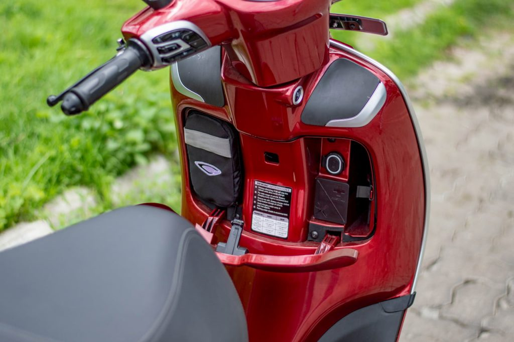 Bajaj Chetak electric scooter glove box initial ownership review from Pune