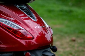 Bajaj Chetak electric scooter tail lamps initial ownership review from Pune