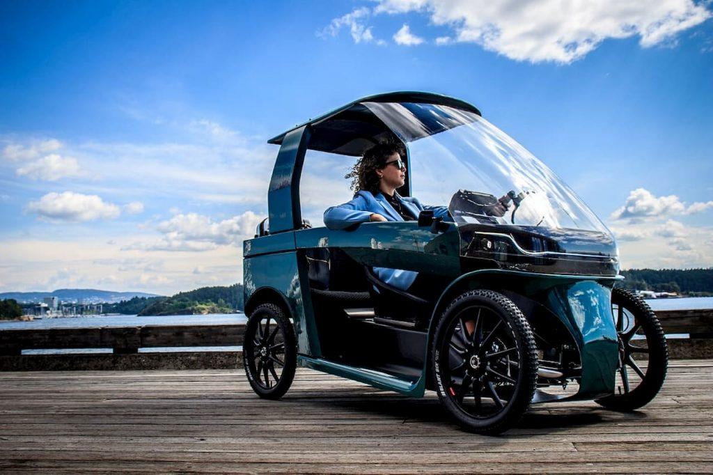 CityQ car-ebike e-bike front