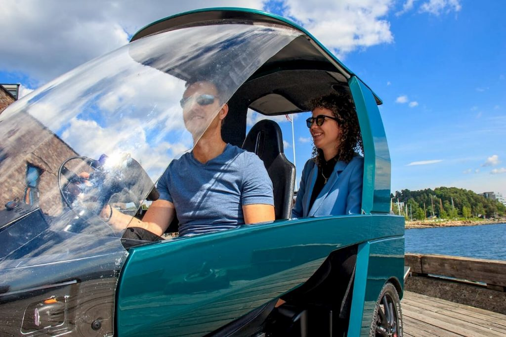 CityQ car-ebike e-bike seating