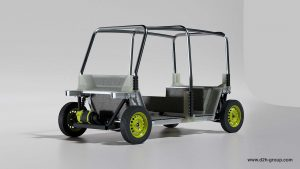 D2H Tuk Tuk alternative front quarter view 01