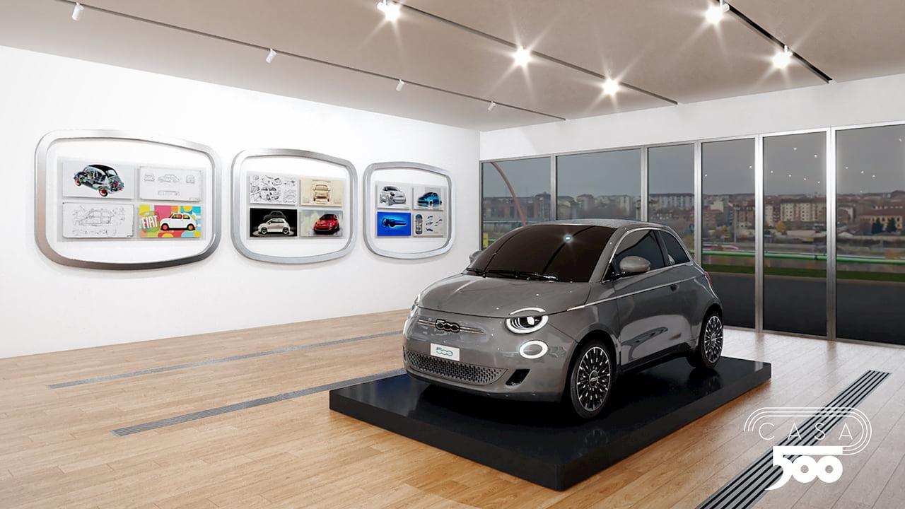 Fiat 500e 2021 start of production