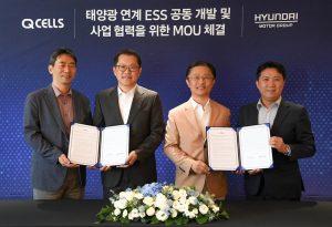 Hyundai Motor Group and Hanwha Q cells