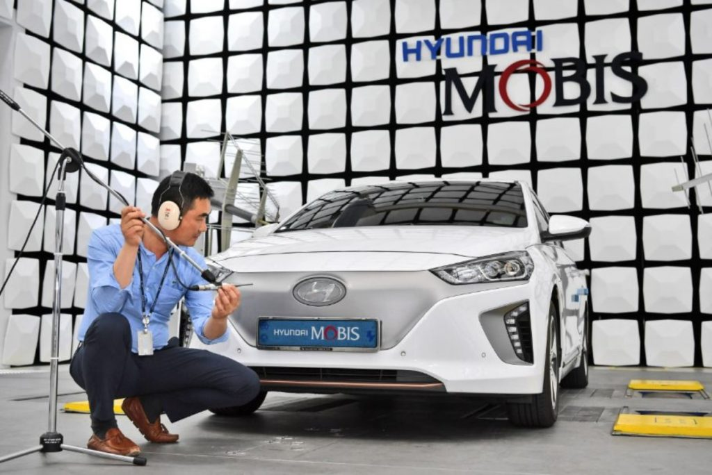 Hyundai Mobis virtual engine sound system compressed