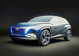 Hyundai Vision T Concept front quarter view
