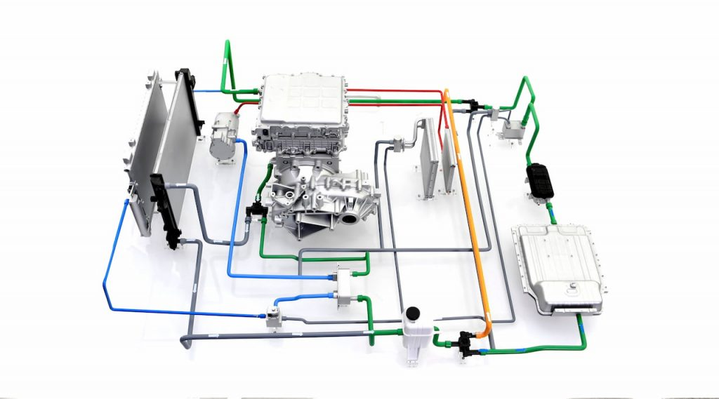 Hyundai heat pump components