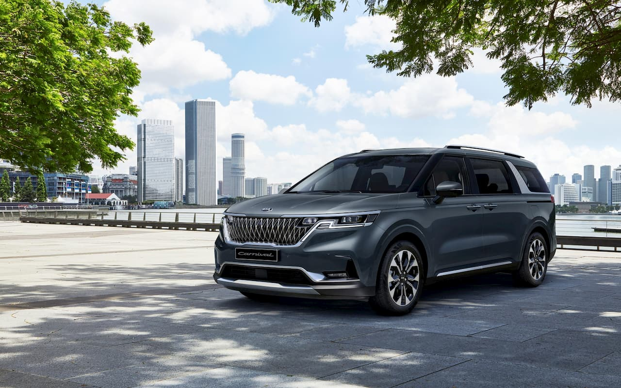 No hybrid, 4WD for 2021 Kia Carnival/Kia Sedona - Report