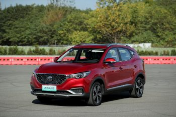 MG Motor sells 1,243 units of ZS EV in India in 2020