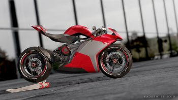 Indian designer feels the MV Agusta would be equally intimidating as an Electric motorcycle [Update]