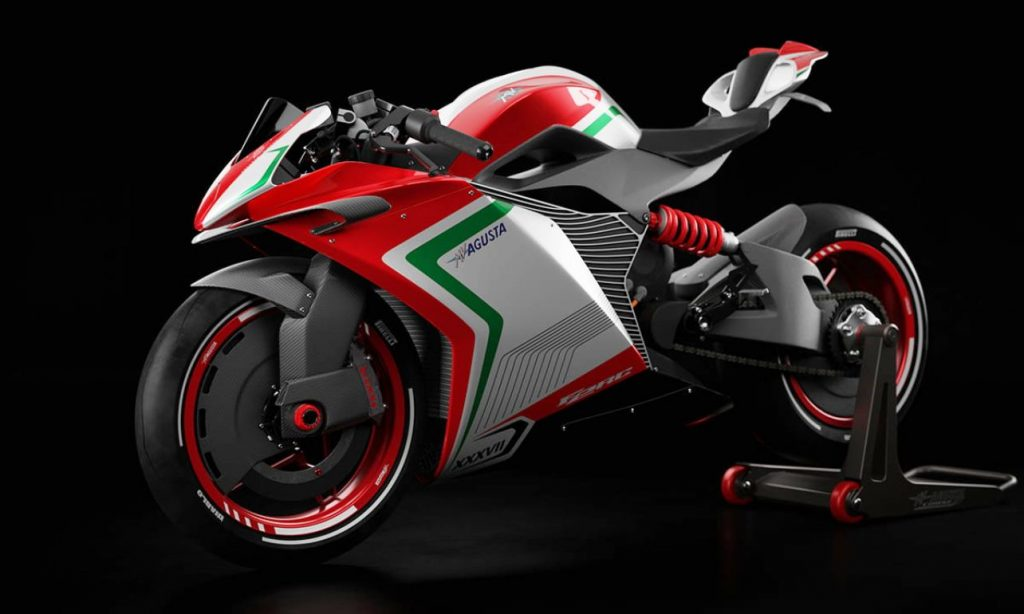 MV Agusta FE RC front quarter view