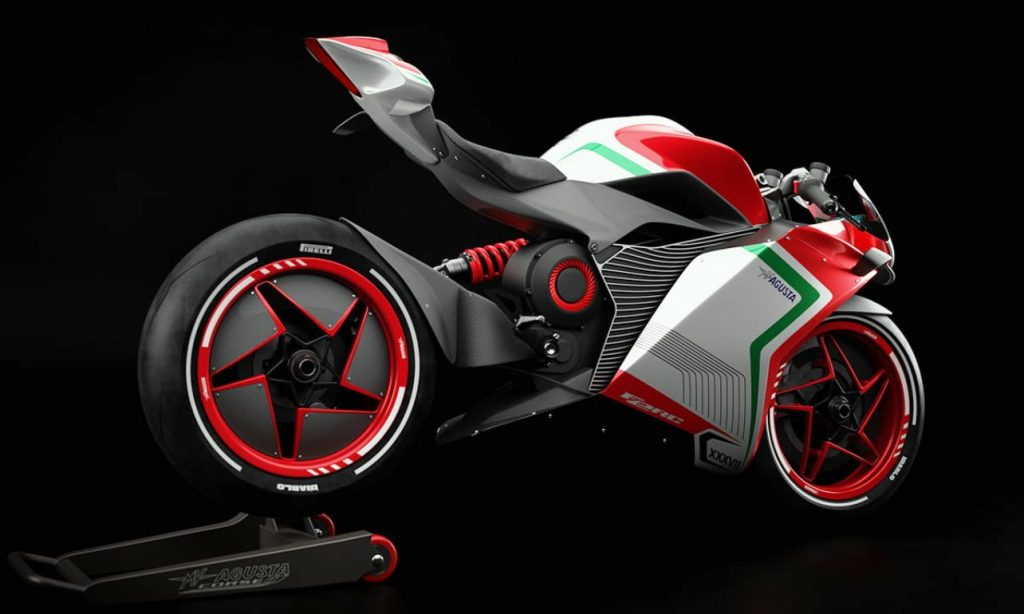 MV Agusta FE RC rear quarter view