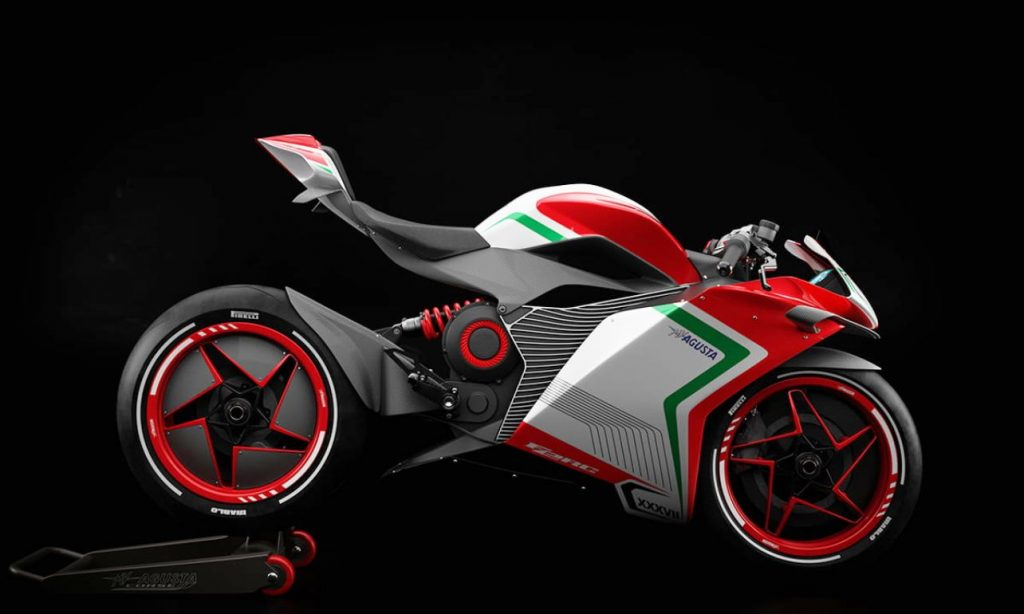 MV Agusta FE RC side view