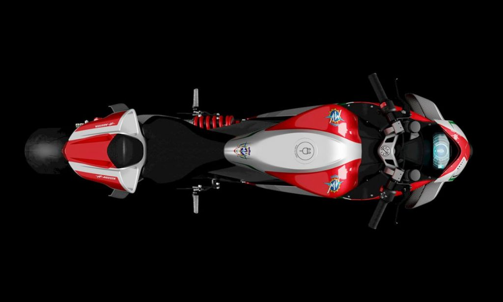 MV Agusta FE RC top view