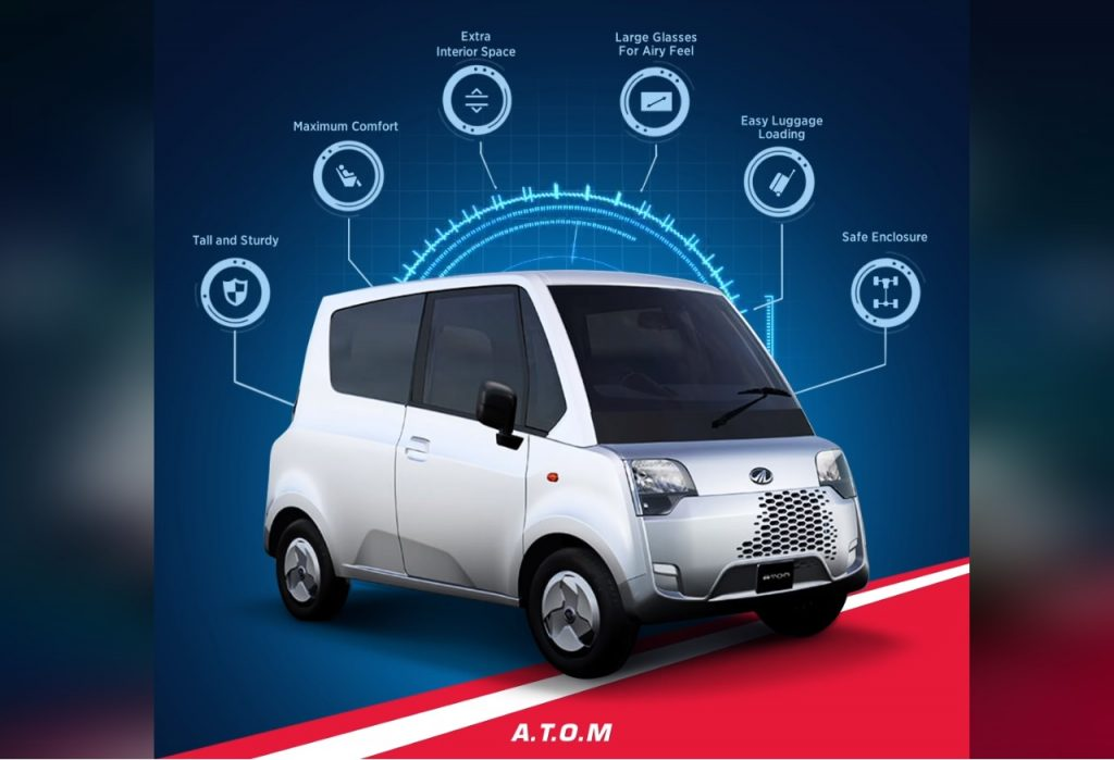 Mahindra Atom features