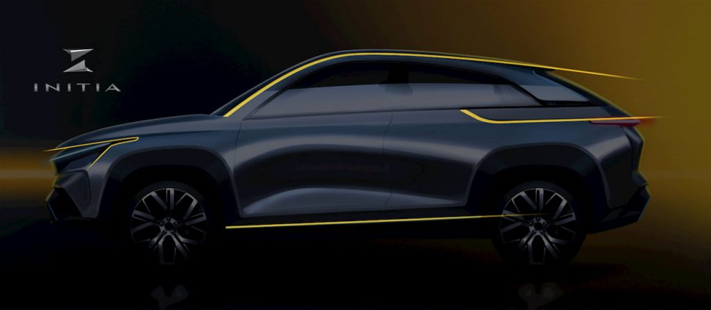 Mahindra XUV300 Coupe Design Concept side profile