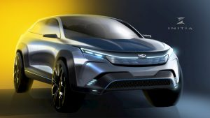 Mahindra XUV300 Coupe design concept by INITIA Designs front