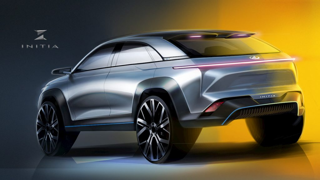 Mahindra XUV300 Coupe design concept by INITIA Designs rear