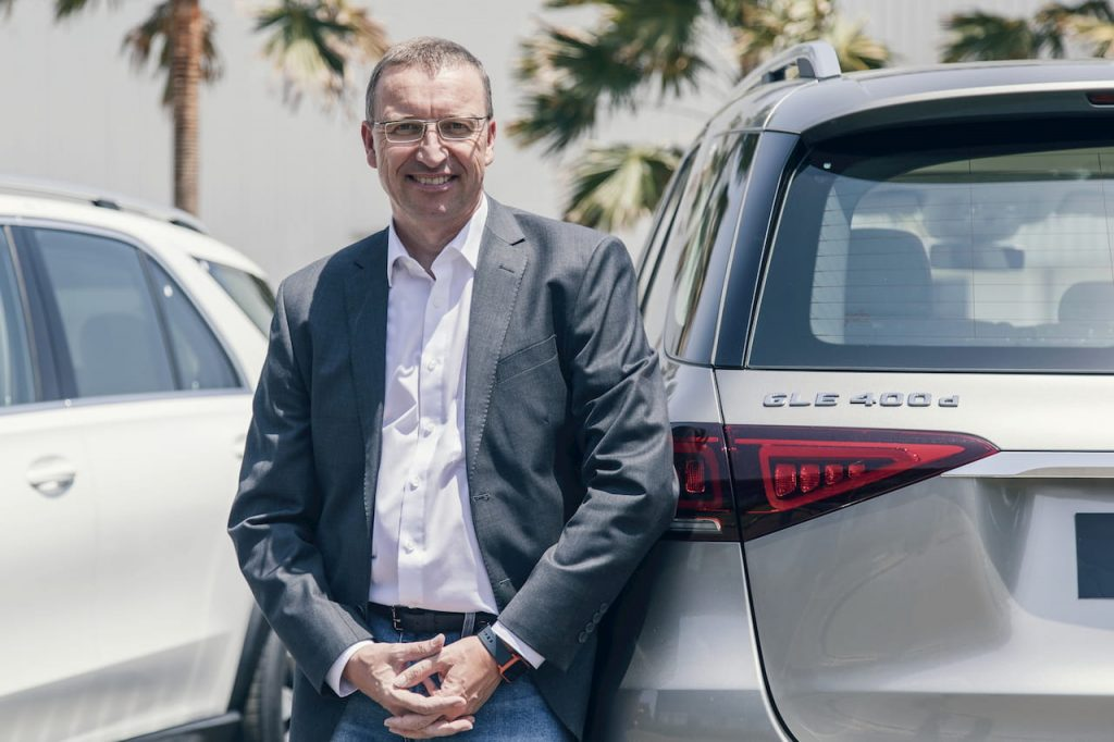 Martin Schwenk of Mercedes-Benz India