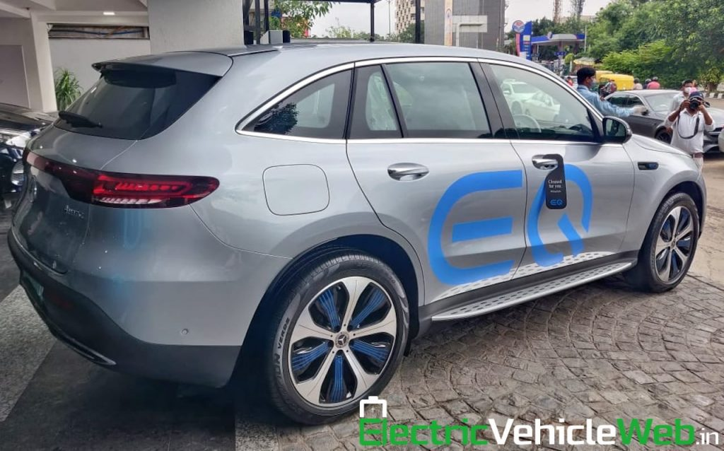 Mercedes EQC Edition 1886 India