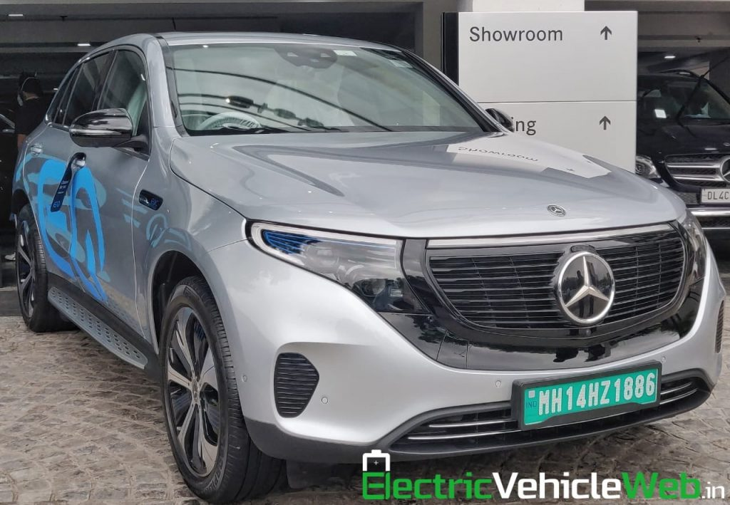 Mercedes EQC Edition 1886 front quarters India