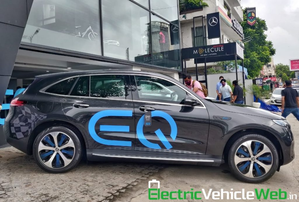 Mercedes EQC side profile