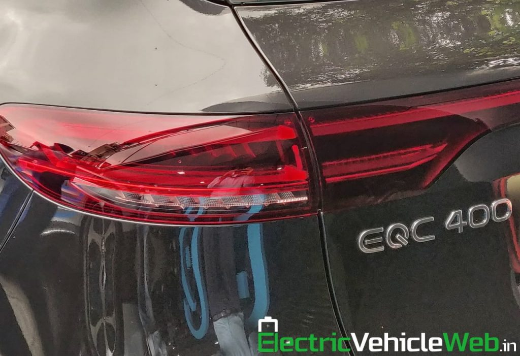 Mercedes EQC tail lamp