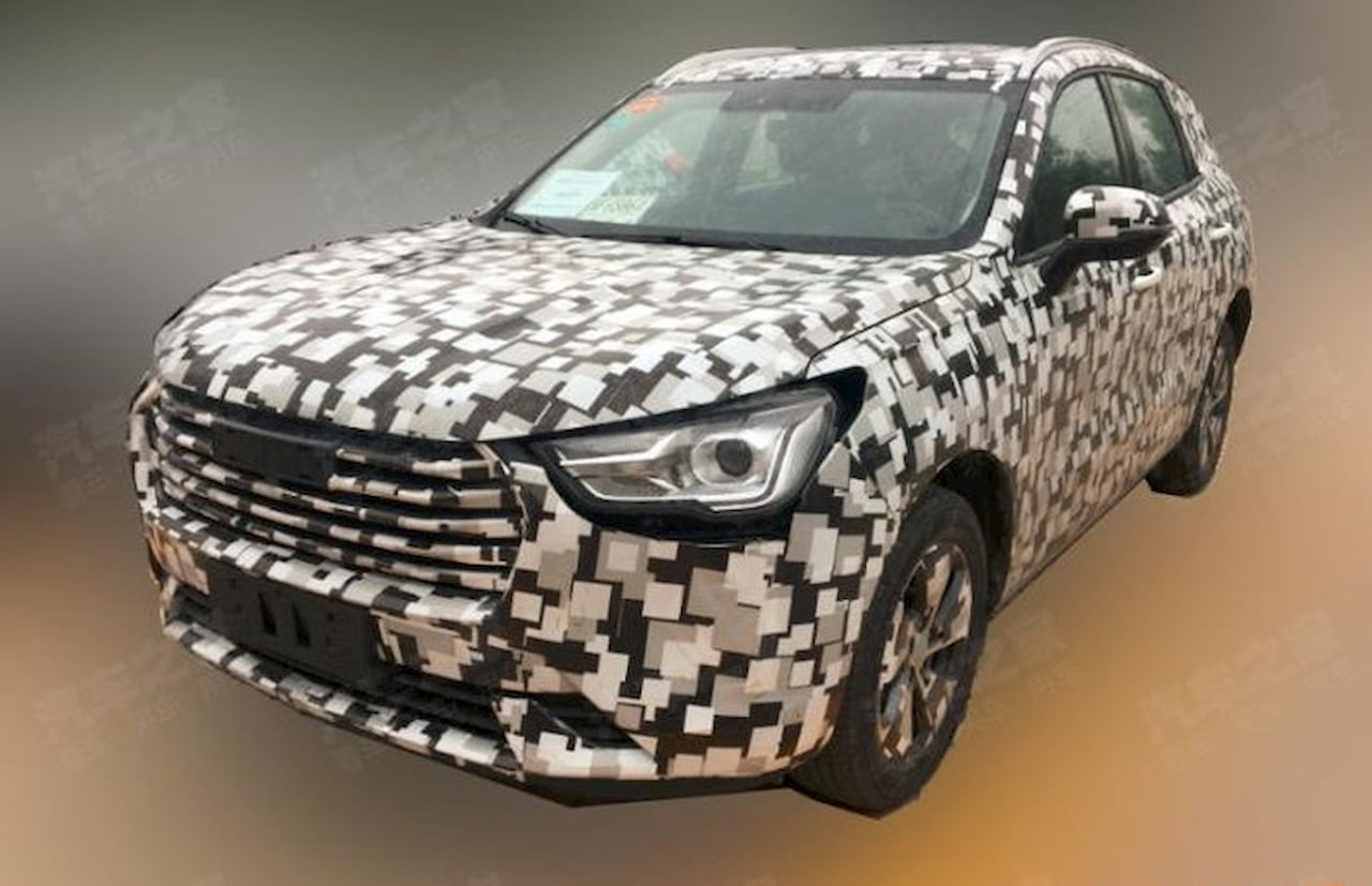 Production Haval H PHEV spy shot Auto Expo 2020
