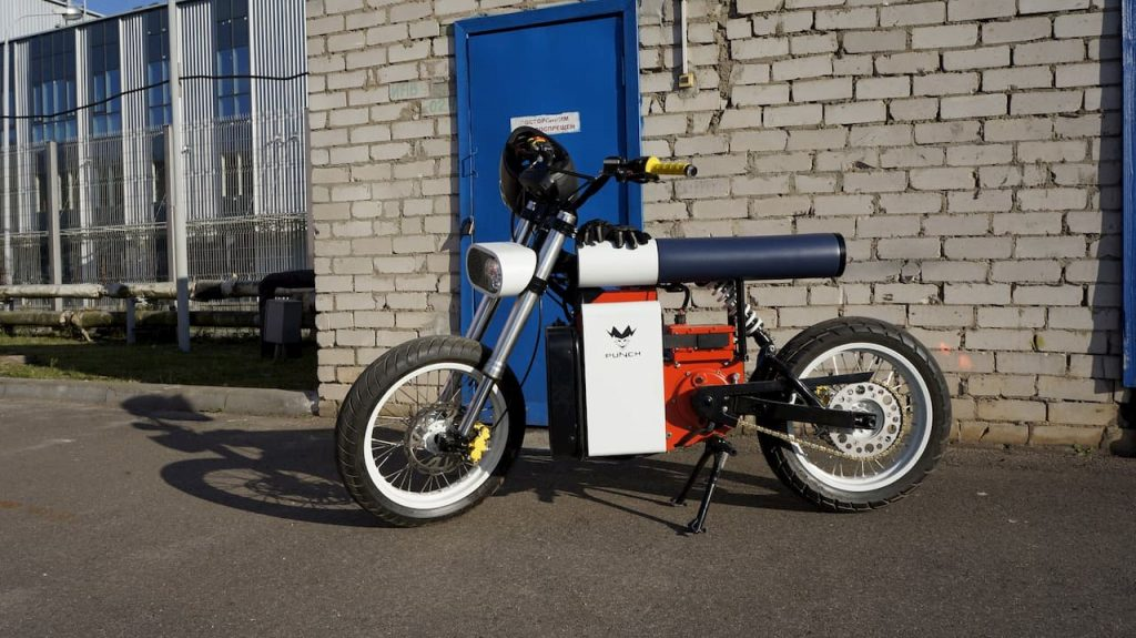 Punch Motorcycles electric bike