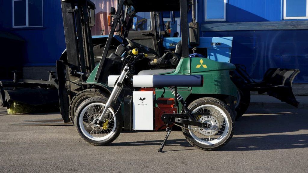 Punch Motorcycles electric bike side