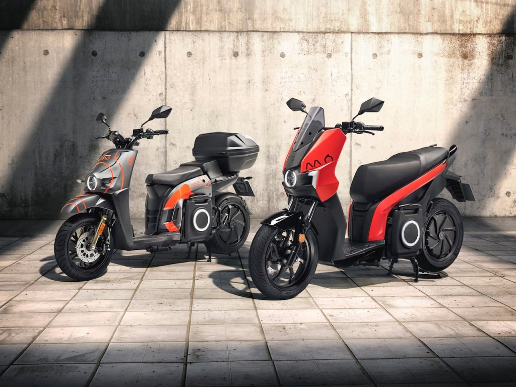 SEAT Mo eScooter 125 personal and ride sharing