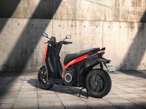 SEAT Mo eScooter 125 rear