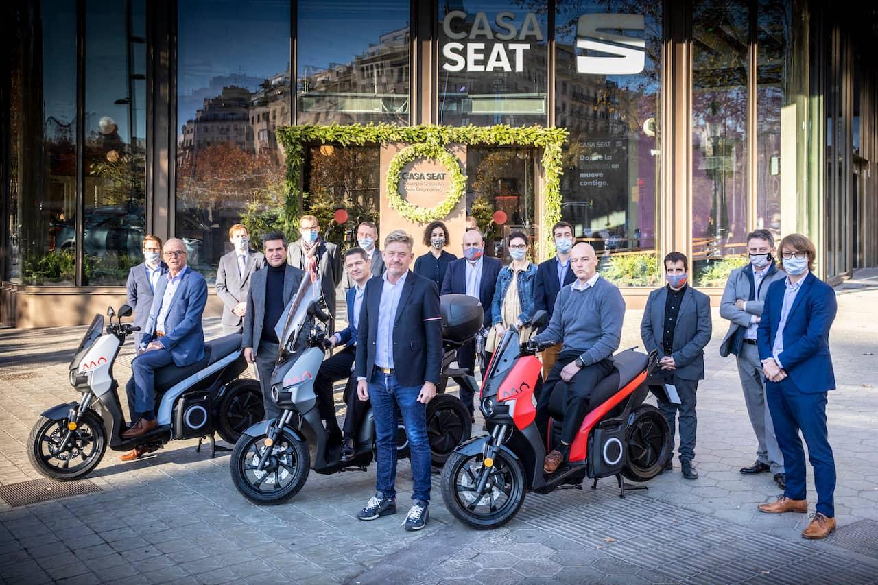 SEAT MO eScooter 125 CASA Seat